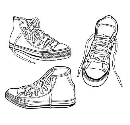 Sneakers Vector Facebook