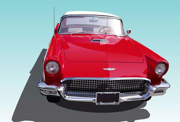 Classic Thunderbird Car
