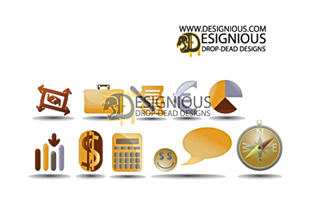 iconset2.jpg Finance Vector Icon Set 2