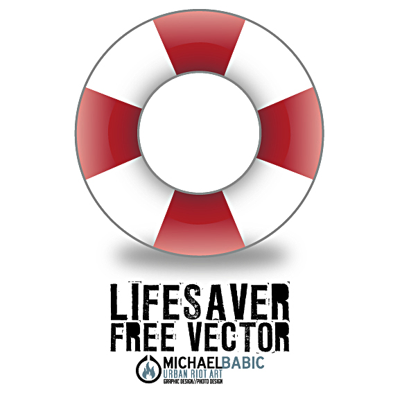 Life Saver Vector Facebook