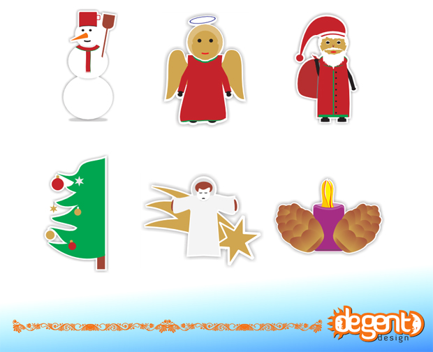 Xmas Vector Freebies Facebook