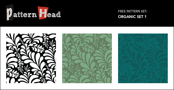 Leaf Pattern Vector Set 1