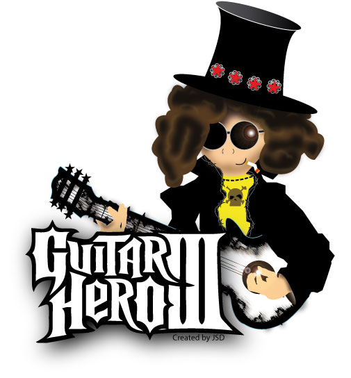 Guitar Hero Vector Graphic