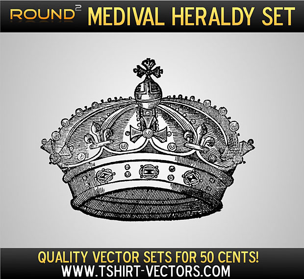 Heraldry Vector Crown