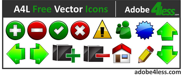 A4L Free Navigation Vector Icons