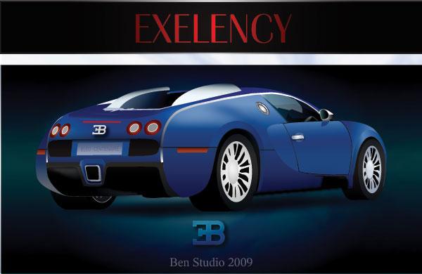 Bugatti Vector Car