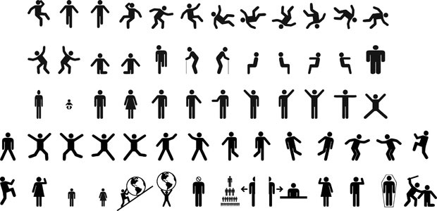 People Vector Pictograms