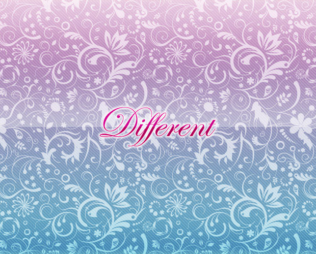 Different Vector Floral Background