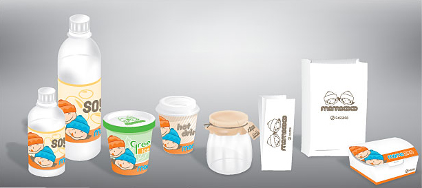 Food Packaging Vector