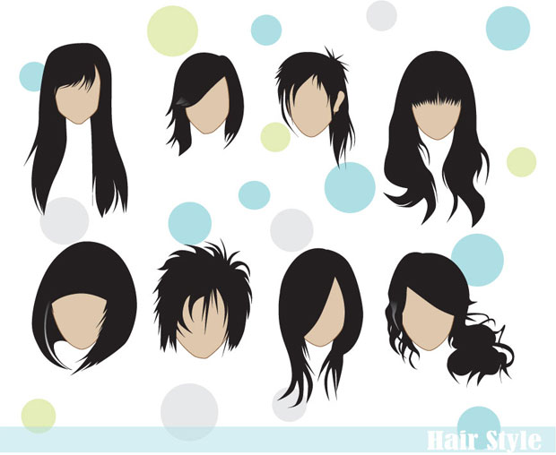 Vector Hairstyles