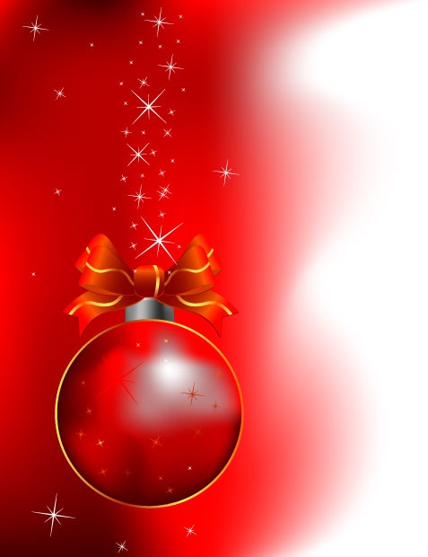 Red Christmas Bell Design