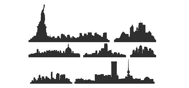 New York City Vector Skyline
