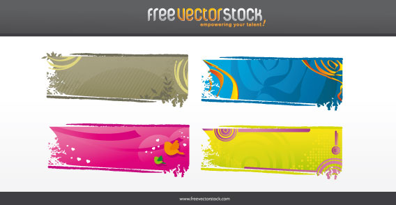 Nature Background Vector Pack