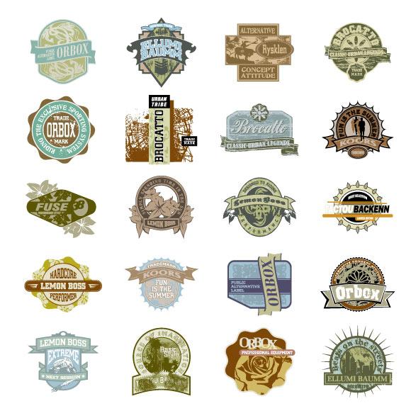 Raphael Falcon Badges