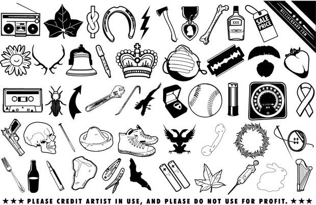 Scrapy Vector Icons
