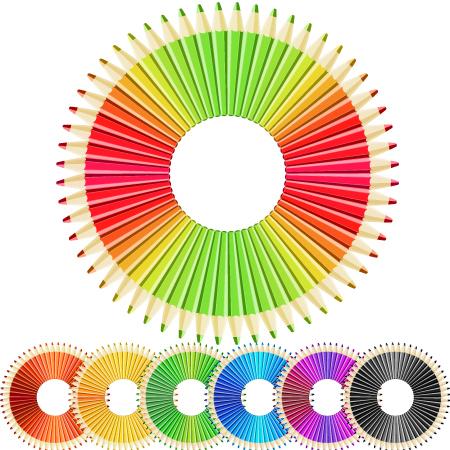 Circle Vector Pencils