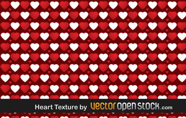 Heart Vector Texture