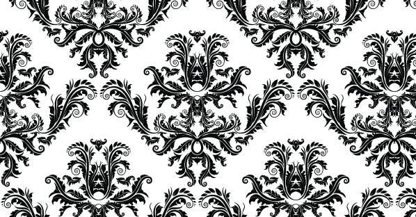 Baroque Vector Seamless Pattern