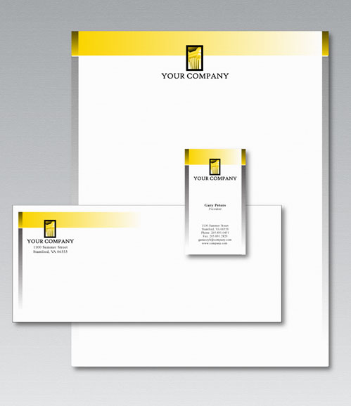 Vector Stationery Design Template