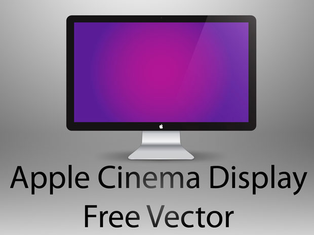 Apple Screen Vector
