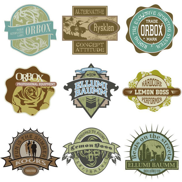 Vintage Logo Vector Designs