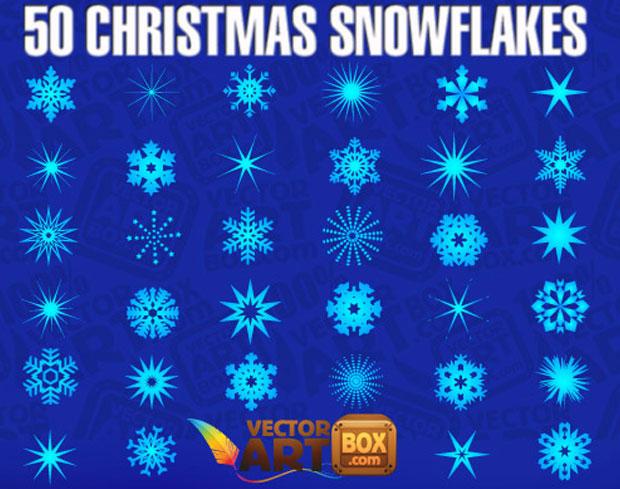 Christmas Snowflakes Vectors