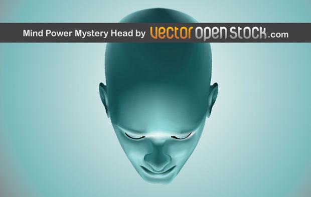 Mind Power Vector Art