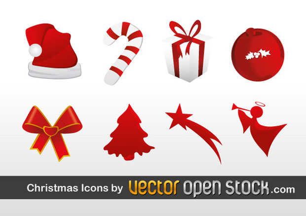 Christmas Icons Vectors