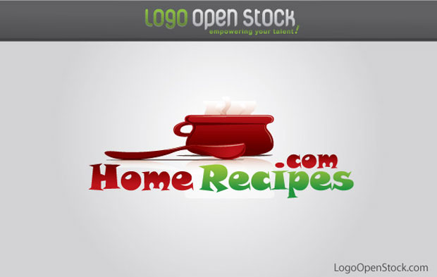 Home Recipies And Cooking Logo Vector