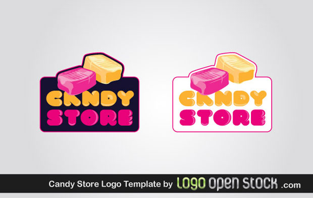 Candy Store Logo Vector