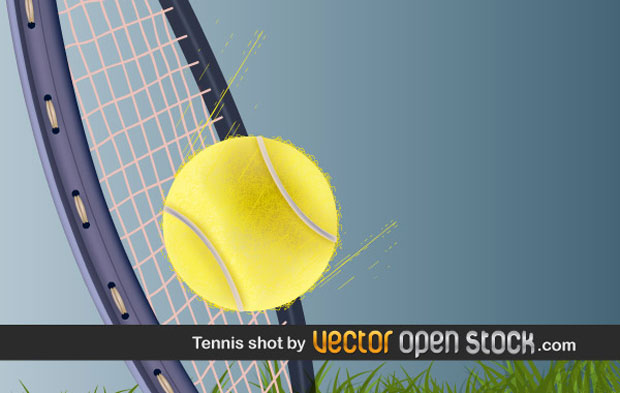 Tennis Shot Vector