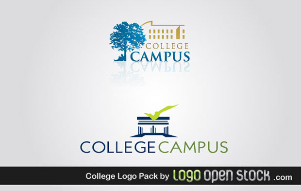 College Logo Vector