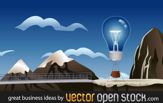 Great Business Idea Vector