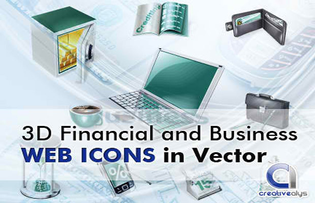 3D Business Vector Icons