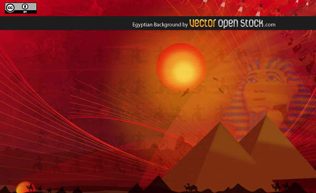 Egyptian Background Vector