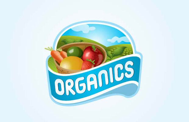 Organic Logo Vector Art