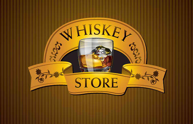 Whiskey Store Vector