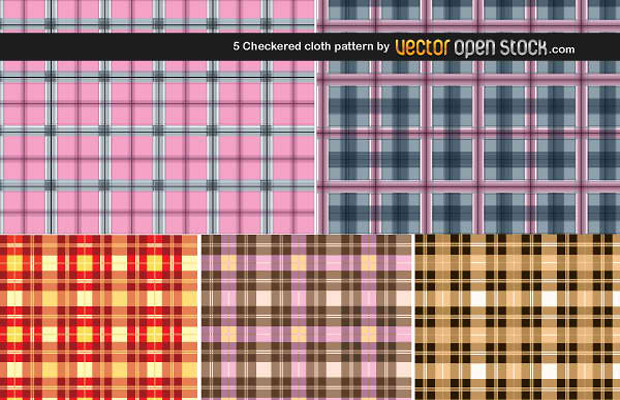 Checkered Design Vector