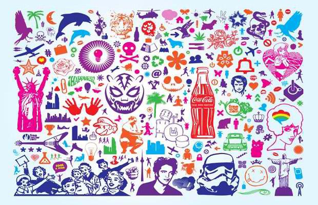 Creative Collage Vector Art
