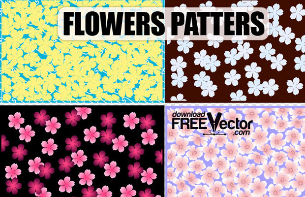 Creative Floral Vector Pattern