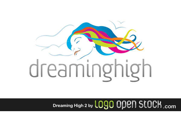 Dreaming Woman Vector Design