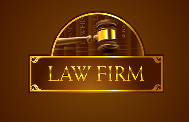 Law Firm Vector Graphic