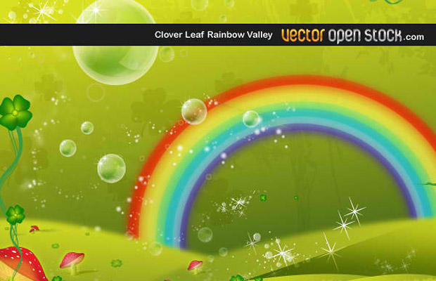 Rainbow Vector Graphic