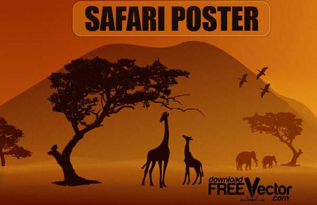 Safari Vector Art