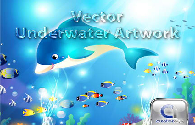 Underwater Vector Artwork