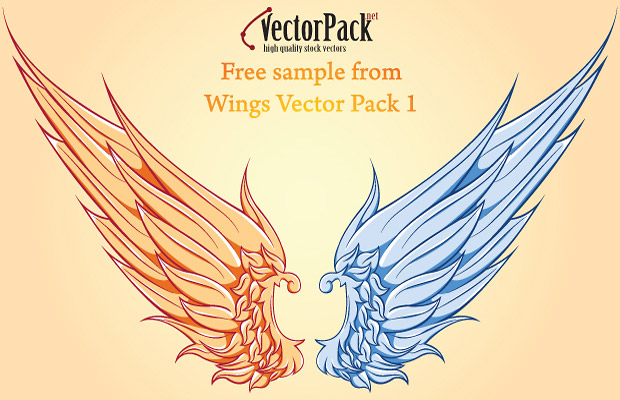 Wings Vector Art