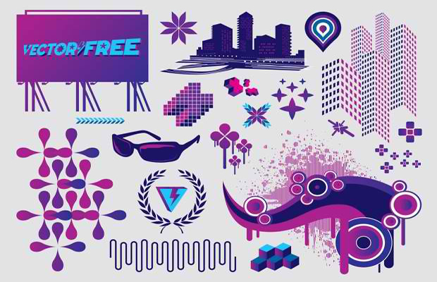 Free Footage Vector Art