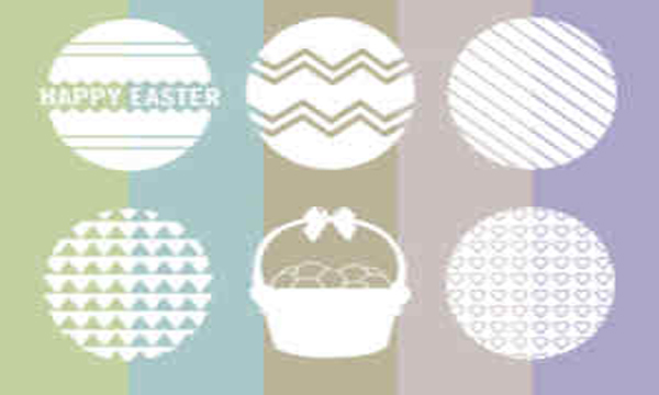 Easter Inspired Vector Graphic