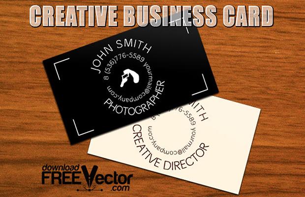 Creative Bcard Vector Template