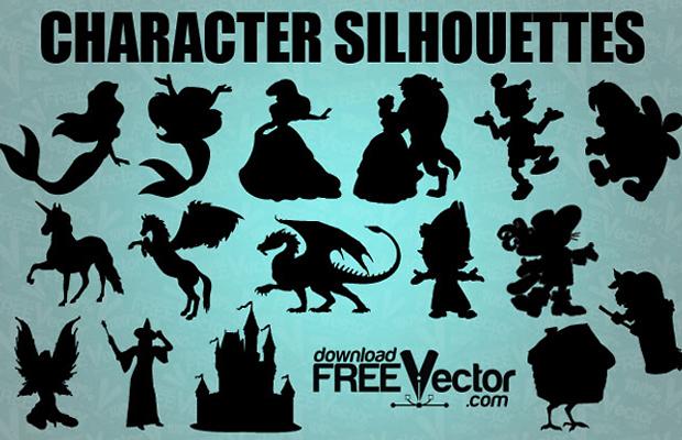 Fairytale Vector Silhouette